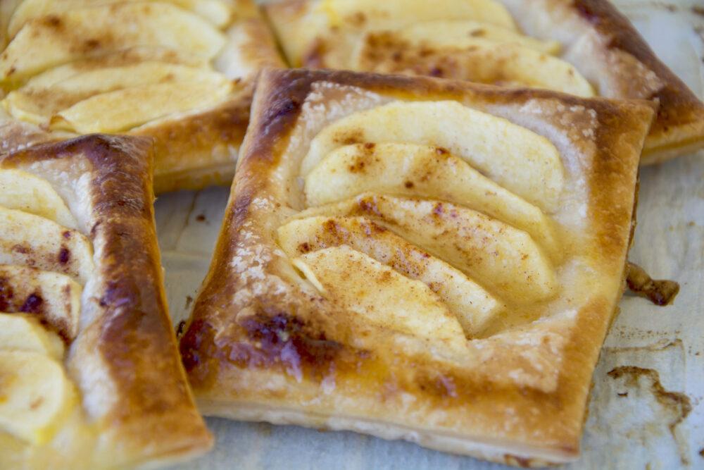 Sfogliatine alle mele e cannella-Senza glutine per tutti i gusti