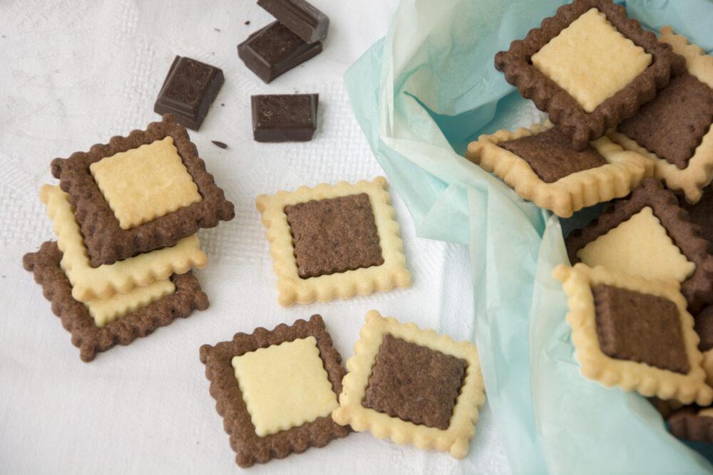Biscotti cacao e vaniglia -Senza glutine per tutti i gusti