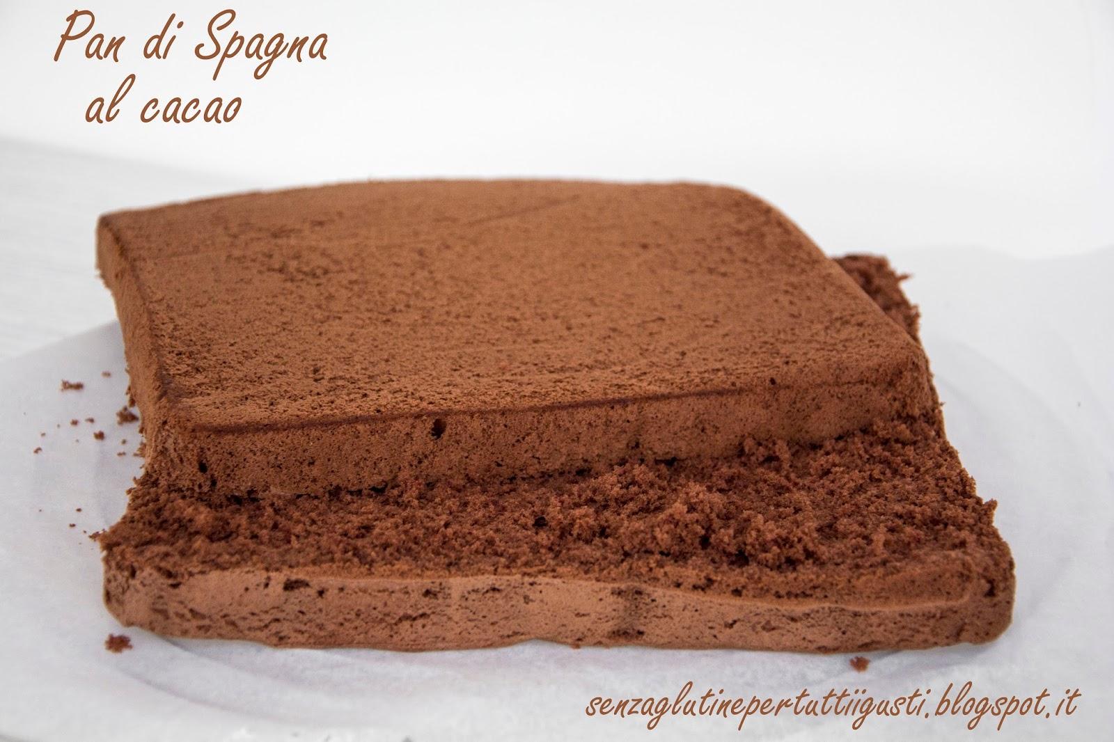 Ricetta Pan Di Spagna Al Cioccolato Bimby.Pan Di Spagna Al Cacao Con Lievito Senza Glutine Bimby Senza Glutine Per Tutti I Gusti