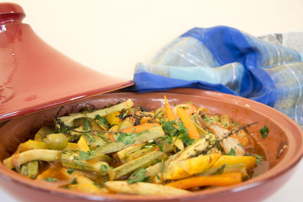 Tajine di verdure estive -Senza glutine per tutti i gusti