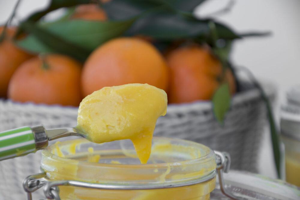 Curd ai clementini -Senza glutine per tutti i gusti