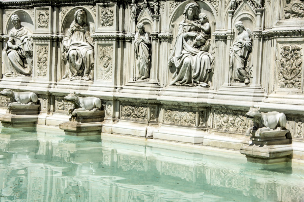 Siena. Fonte Gaia