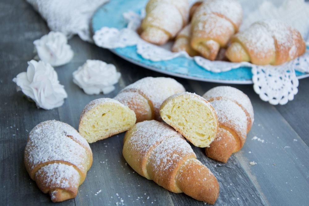 Ricetta Brioches Senza Glutine.Mini Cornetti Brioche Senza Glutine Con Mix Per Pinsa Di Fabio Iobbi