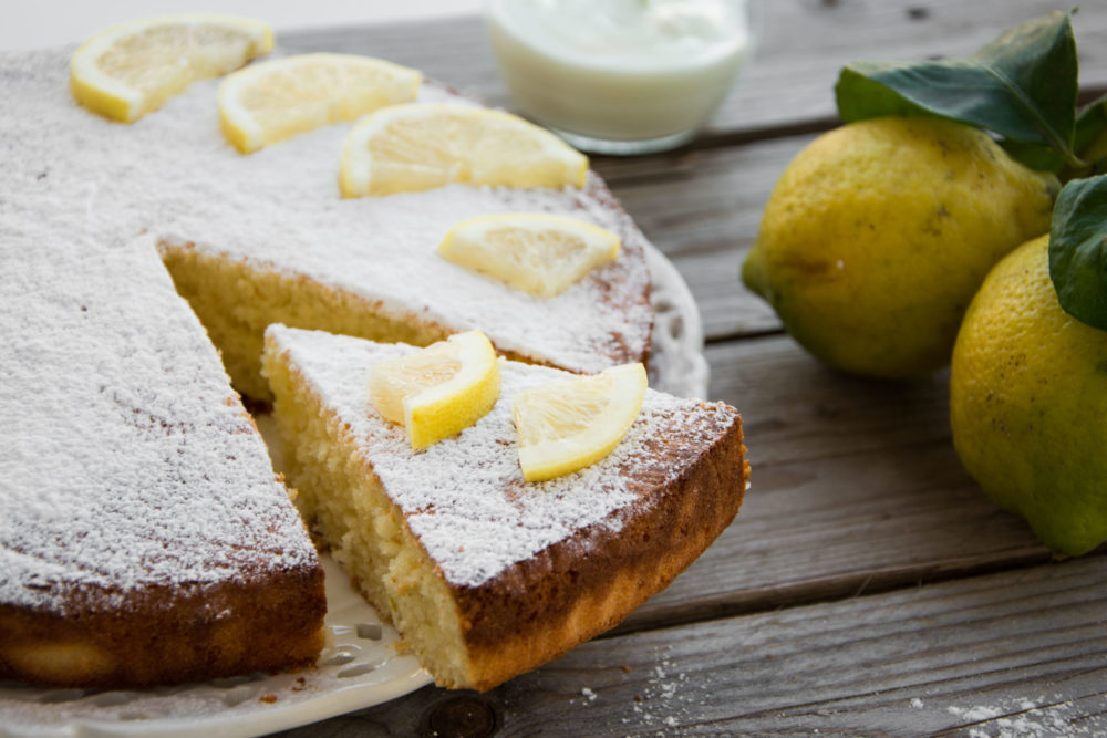 Torta al limone -Senza glutine per tutti i gusti