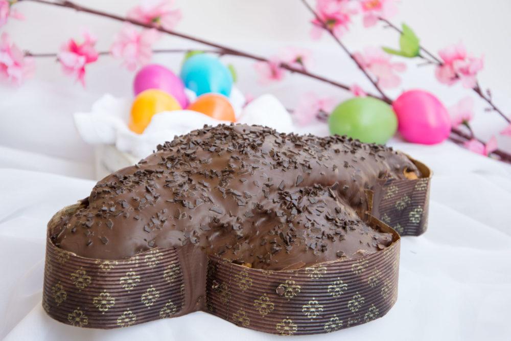 Colomba al cioccolato-Senza glutine per tutti i gusti