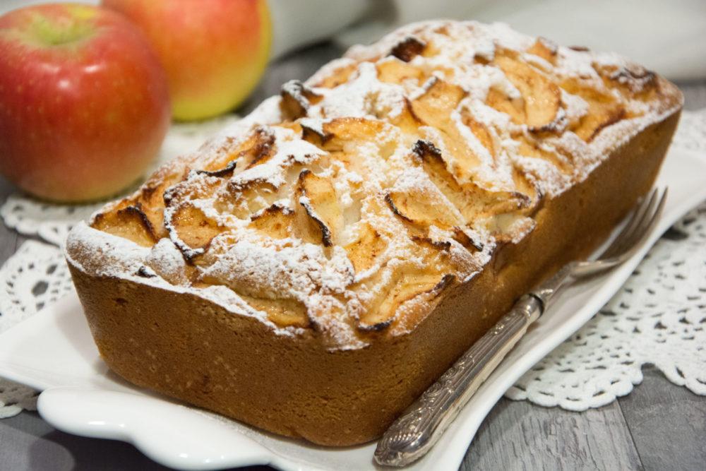 Plumcake cocco e mele -Senza glutine per tutti i gusti