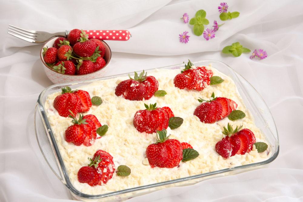 Ricetta Tiramisu Fragole E Cioccolato Bianco Senza Uova.Tiramisu Alle Fragole E Cioccolato Bianco Senza Glutine Con Bimby