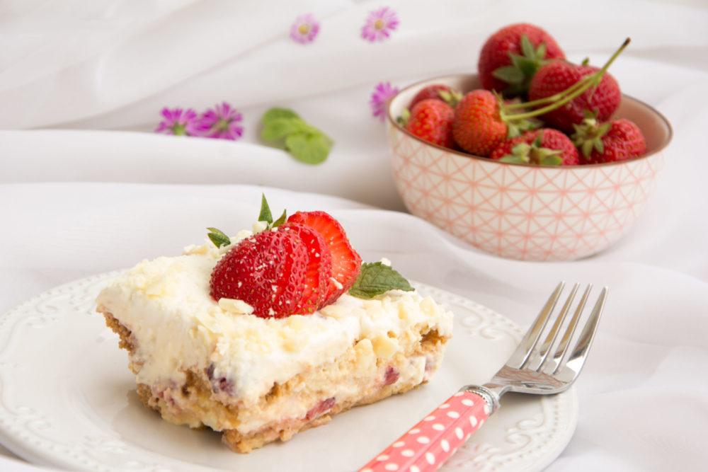 Tiramisù alle fragole -Senza glutine per tutti i gusti
