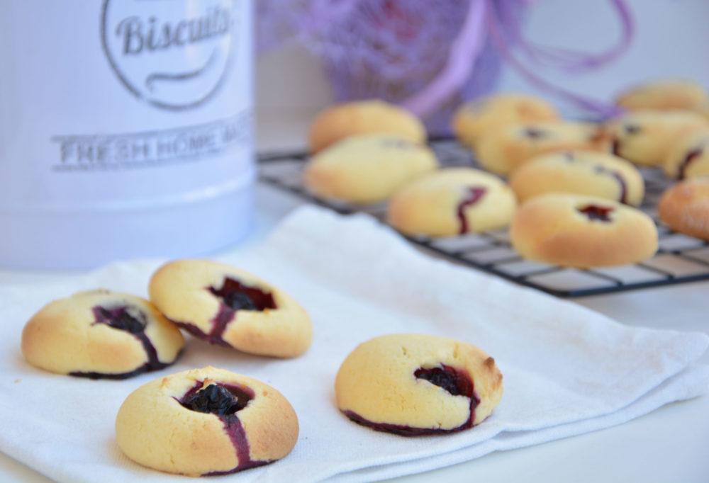 Biscotti al limone e mirtilli -Senza glutine per tutti i gusti