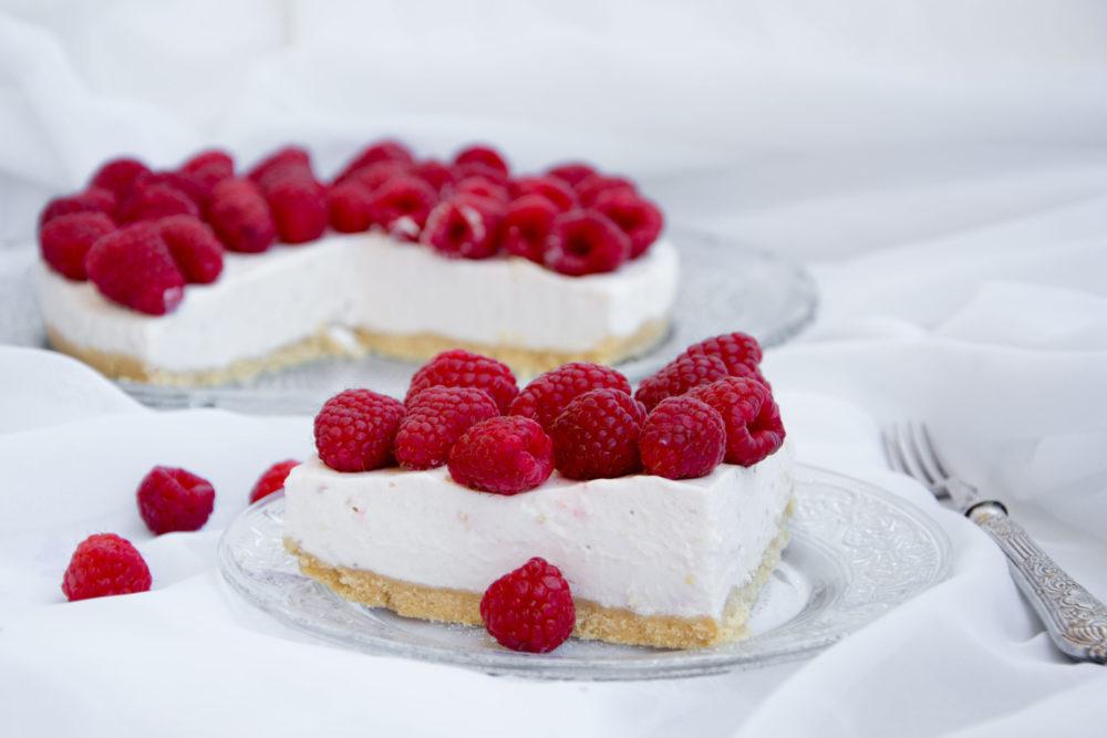 Cheesecake ai lamponi -Senza glutine per tutti i gusti
