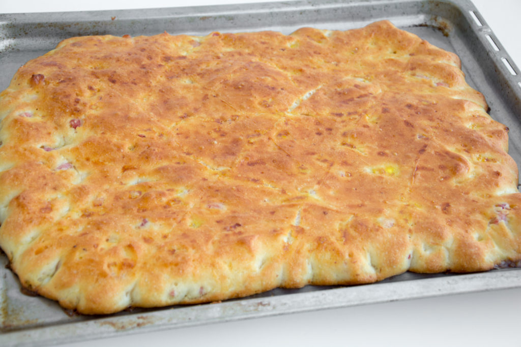 Crescente alla pancetta delle Simili-Senza glutine per tutti i gusti