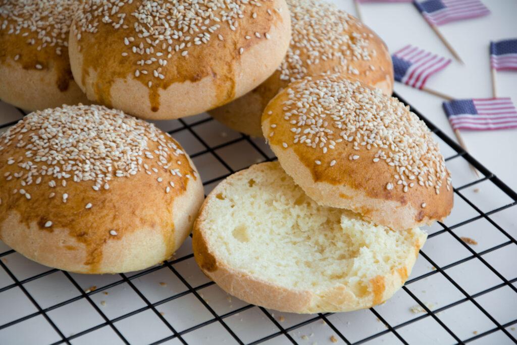 Burger buns -Senza glutine per tutti i gusti