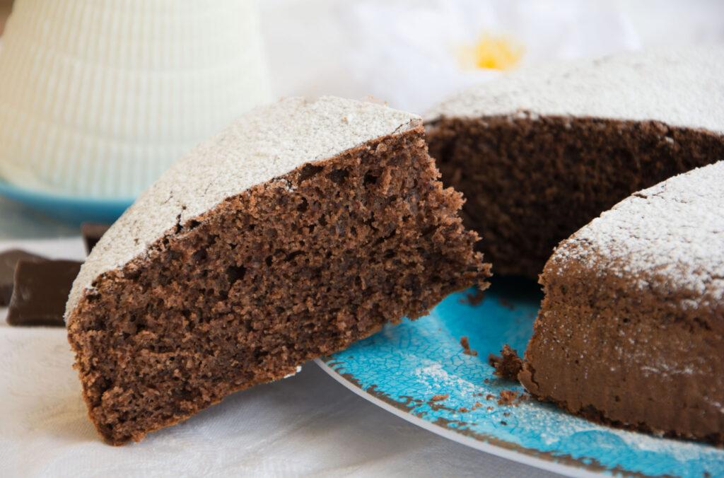 Torta ricotta e cioccolato -Senza glutine per tutti i gusti