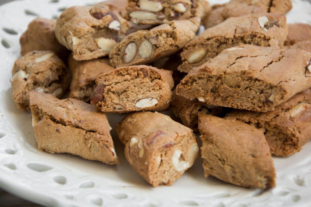 Cantucci con farina di castagne -Senza glutine per tutti i gusti