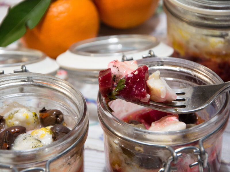 Palombo in vasocottura-Senza glutine per tutti i gusti