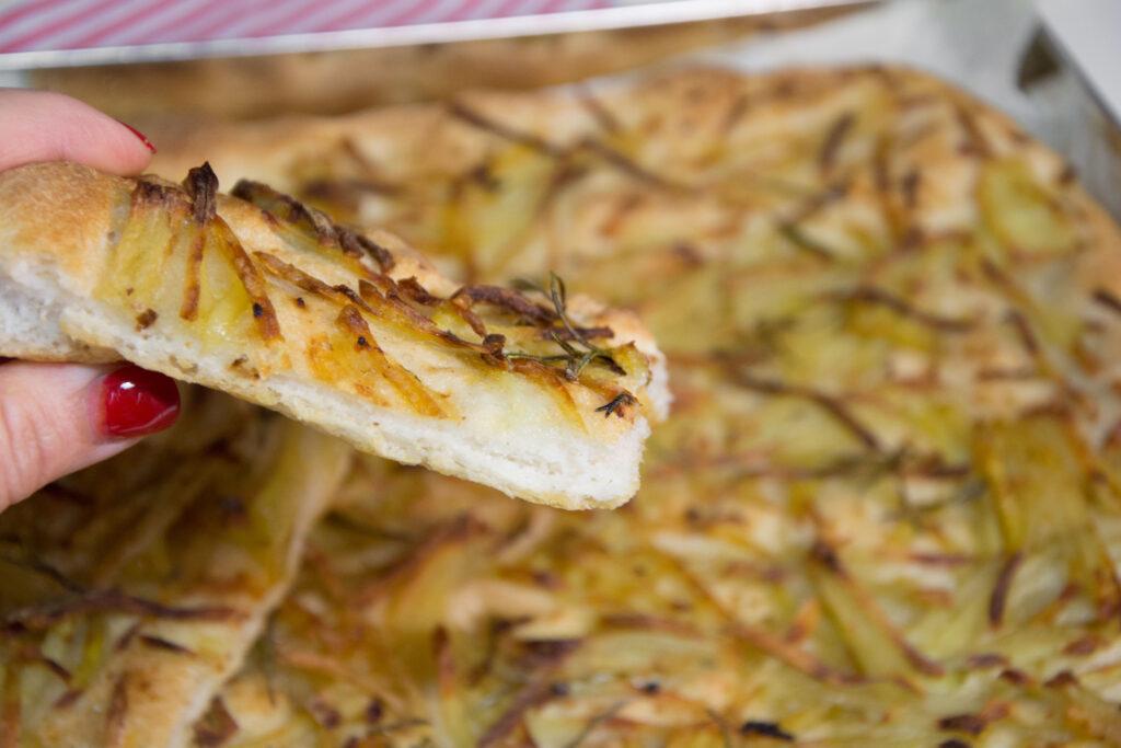 Pizza bianca alle patate -Senza glutine per tutti i gusti