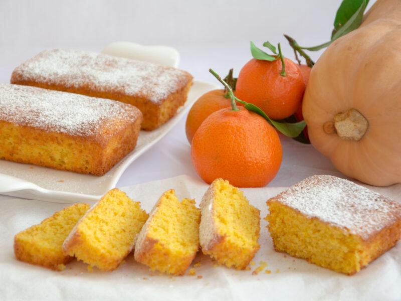 Plumcake alla zucca e clementini -Senza glutine per tutti i gusti