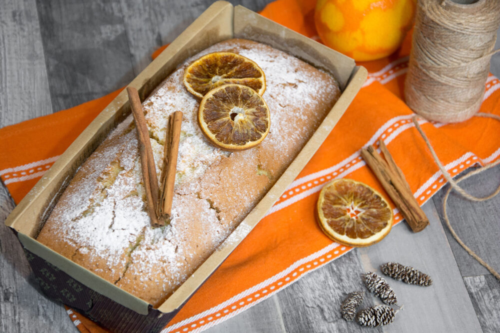 Plumcake arancia e cannella -Senza glutine per tutti i gusti