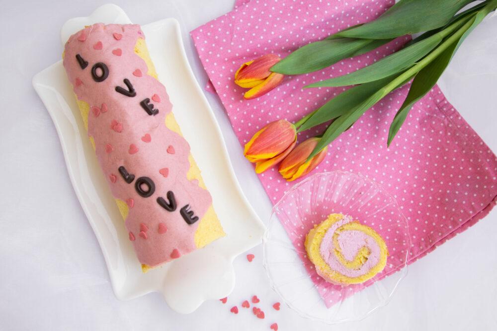 Rotolo Giapponese di San Valentino -Senza glutine per tutti i gusti