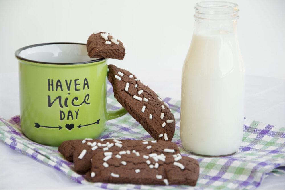 Biscotti da latte al cacao -Senza glutine per tutti i gusti