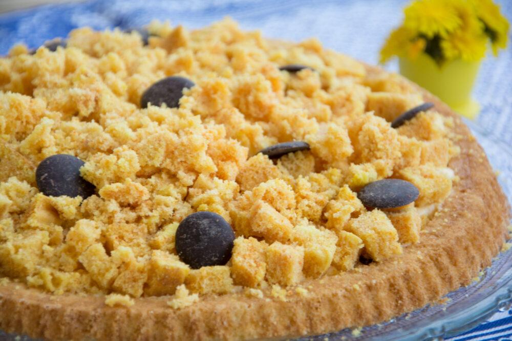 Crostata morbida mimosa -Senza glutine per tutti i gusti