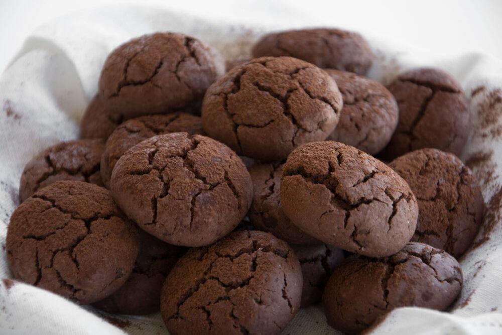 Biscotti da inzuppo al cacao -Senza glutine per tutti i gusti
