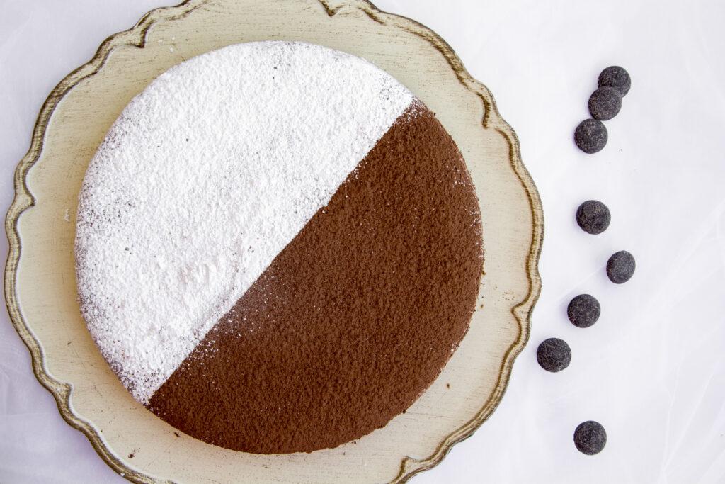 Torta di albumi al cioccolato -Senza glutine per tutti i gusti