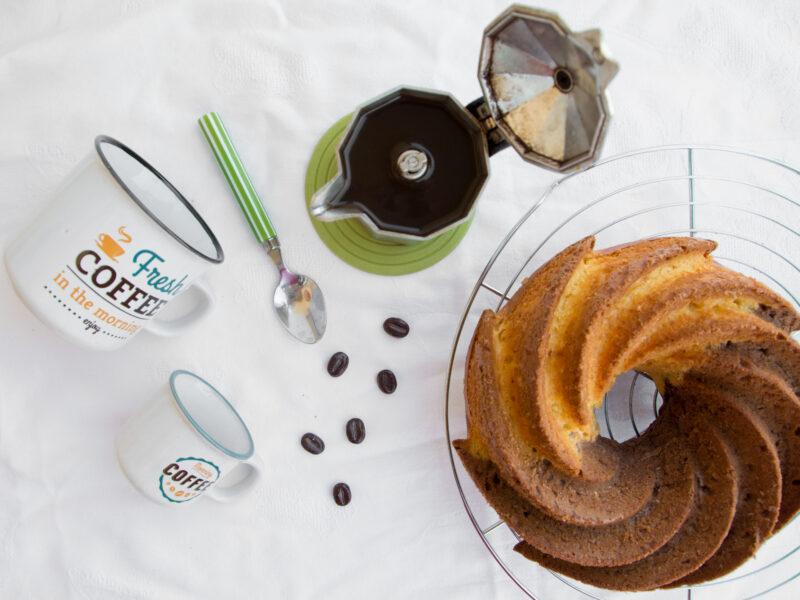 Ciambella vaniglia e caffè -Senza glutine per tutti i gusti