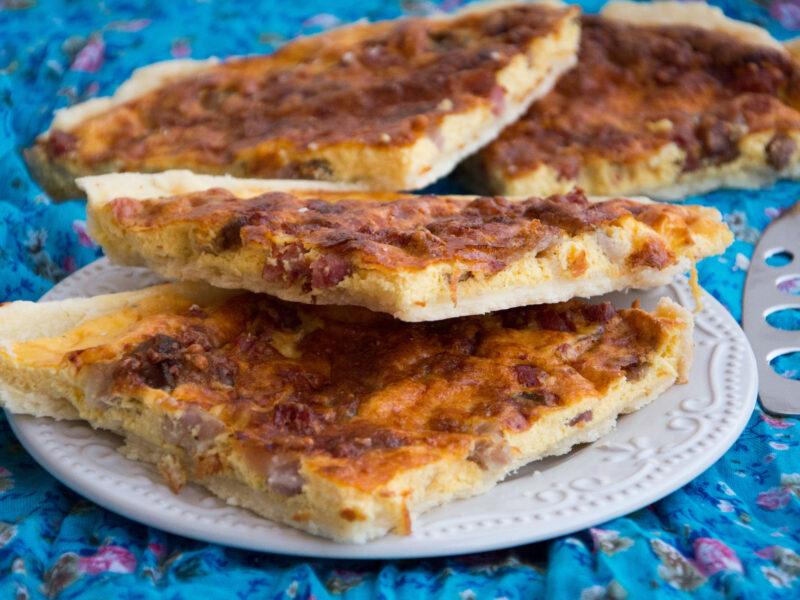 Quiche Lorraine -Senza glutine per tutti i gusti