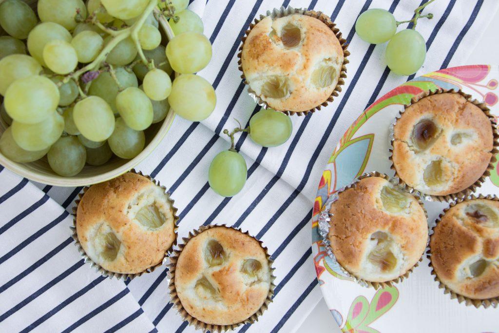Tortini all'uva e cioccolato bianco -Senza glutine per tutti i gusti