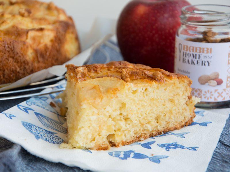 Torta di mele al caramello -Senza glutine per tutti i gusti